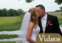 A Dream Michigan Wedding - Couple Kissing Romantic getaways in Michigan