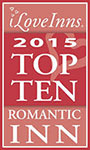 The 2015 Top 10 Romantic Inns award
