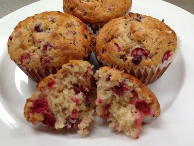 Recipe for Cranberry-Orange Muffins