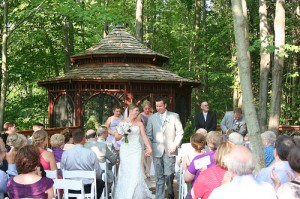 Michigan fairytale wedding