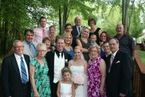 Michigan fairytale wedding