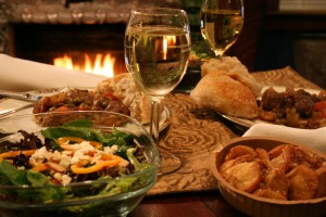 Romantic Michigan Inn with Great Food and Fireplaces