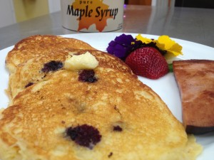 cornmeal pancake recipe