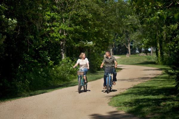Biking in Michigan