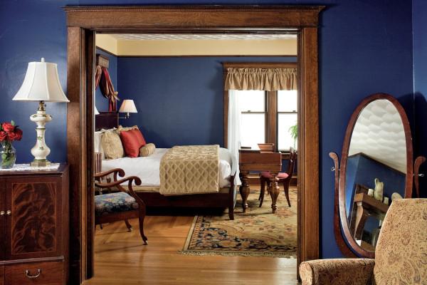 Romantic Room at our Michigan B&B