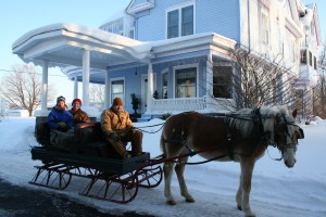 Sleigh Ride at Michigan Bed and Breakfast