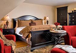 A gorgeous bedroom suite