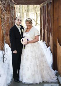 Southwest Michigan winter wedding