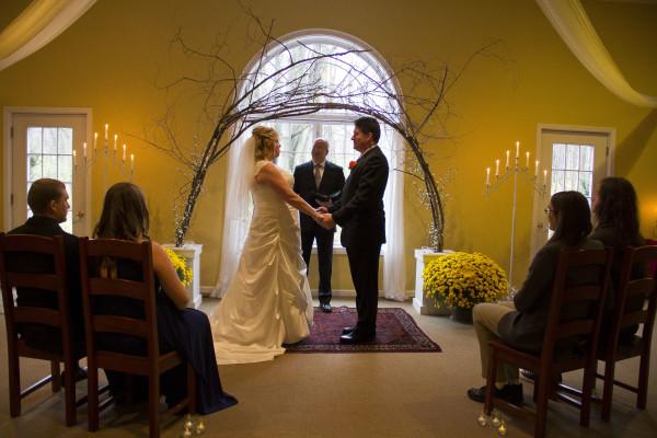 Michigan winter wedding venue