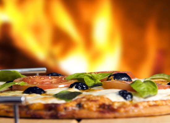 Michigan Beach Getaway Pizza