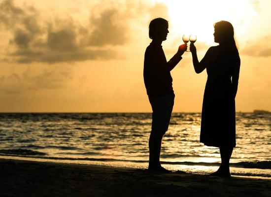 MIchigan Beaches - Wine Drinking