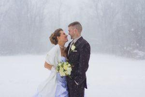 Winter Wedding in Michigan