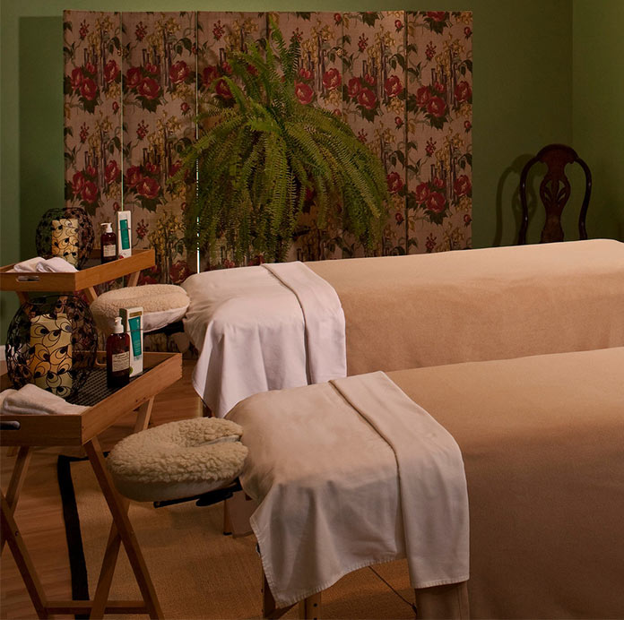 Two Massage Tables in Royal Retreat Spa