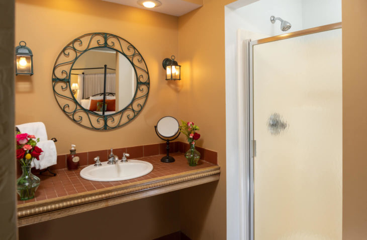 Lady Guinevere Bathroom Shower & Mirror
